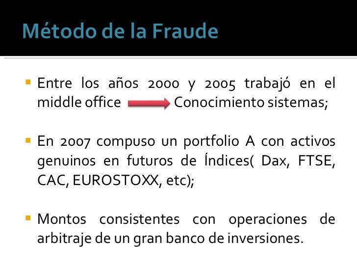 <ul><li>Entre los años 2000 y 2005 trabajó en el middle office  Conocimiento sistemas; </li></ul><ul><li>En 2007 compuso u...
