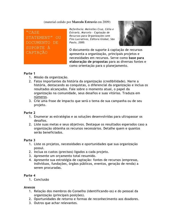 """(material cedido por Marcelo Estraviz em 2009)                                Referência: Meirelles Cruz, Célia e  """"CASE  ..."""