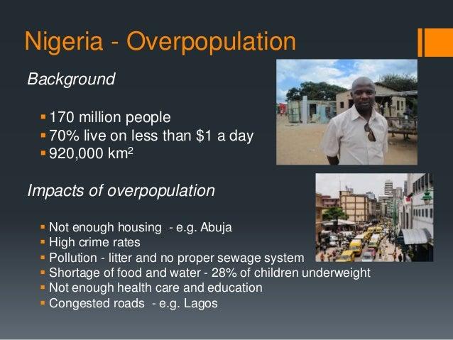 igcse geography overpopulation case study