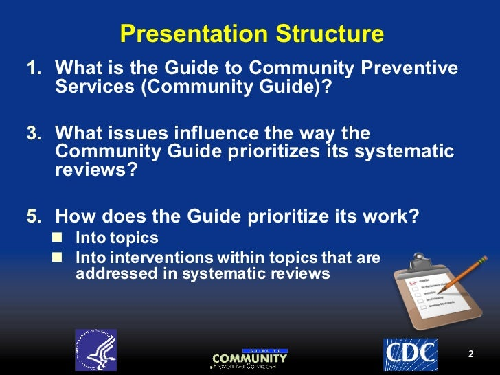 community disease prevention essay Goalincrease the quality, availability, and effectiveness of educational and community-based programs designed to prevent disease and injury, improve.