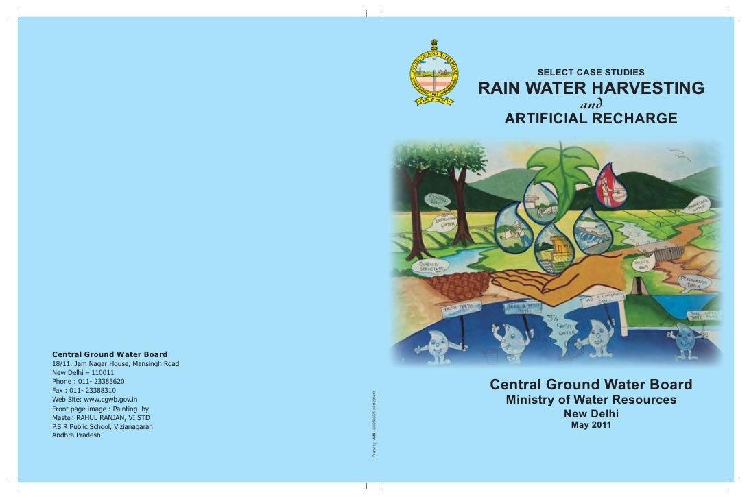 SELECT CASE STUDIES                                                                                    RAIN WATER HARVESTI...