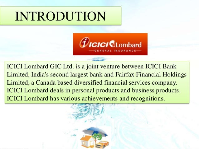 analysis of the icici lombard insurance company business essay Check out our top free essays on icici to help you write your own essay  analysis of insurance company  insurance (kuwait) and icici lombard.