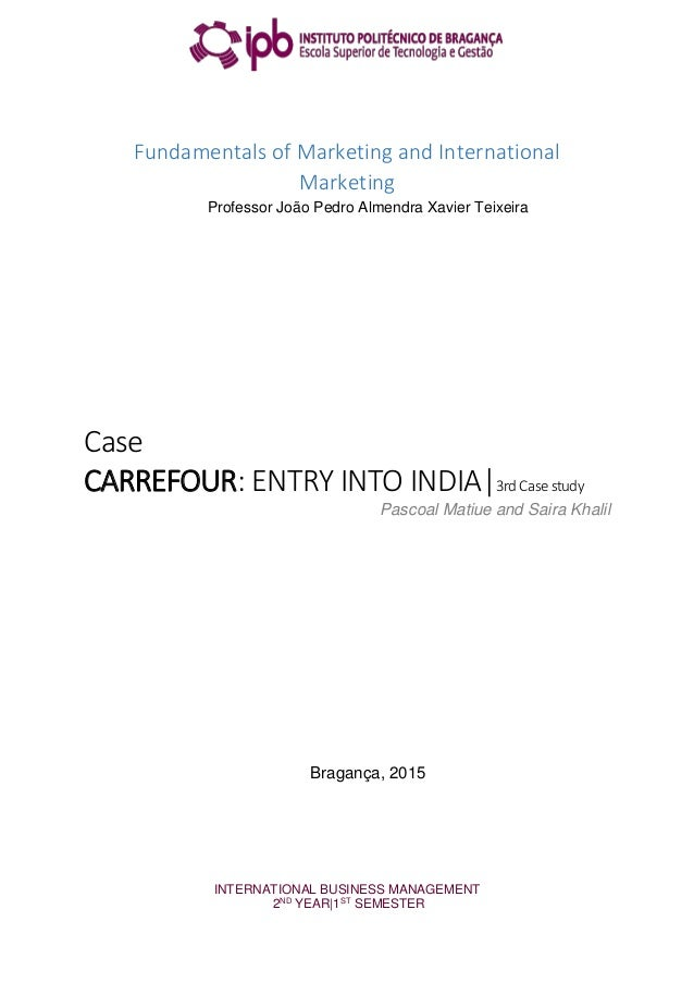 case study 3 conducting international business If this is not the case, please contact edinburgh business vi edinburgh business school international marketing 32 73 responsibility for conducting.