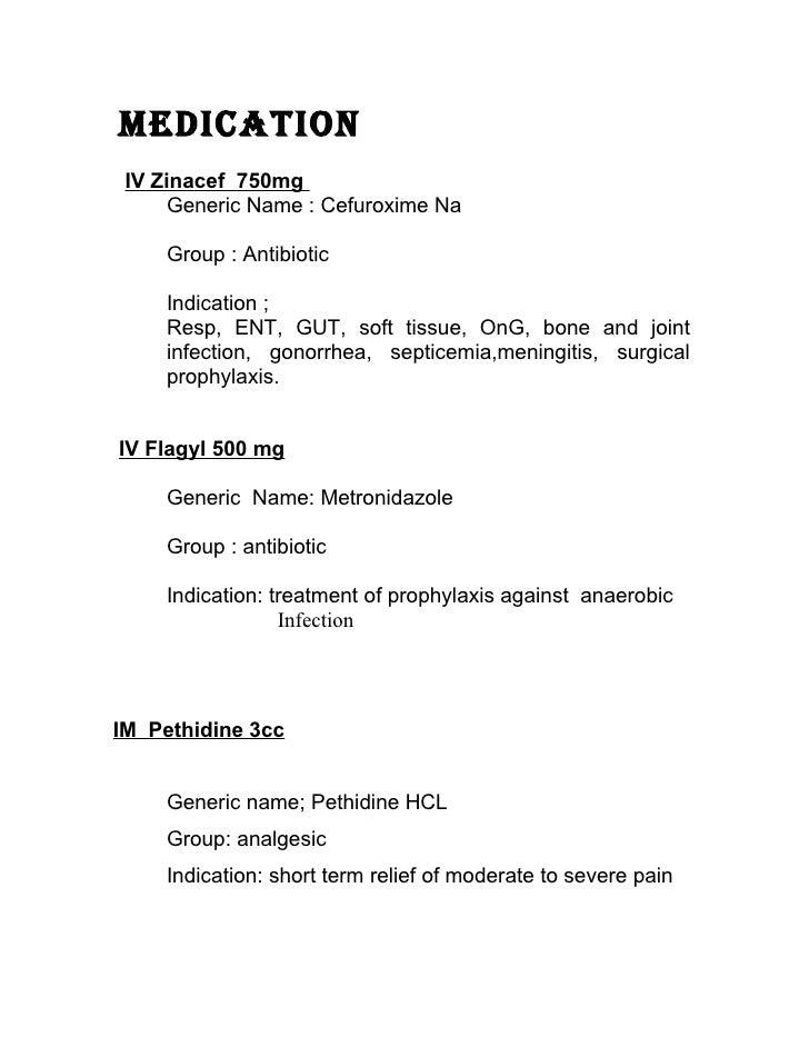 Nursing case study Appendectomy