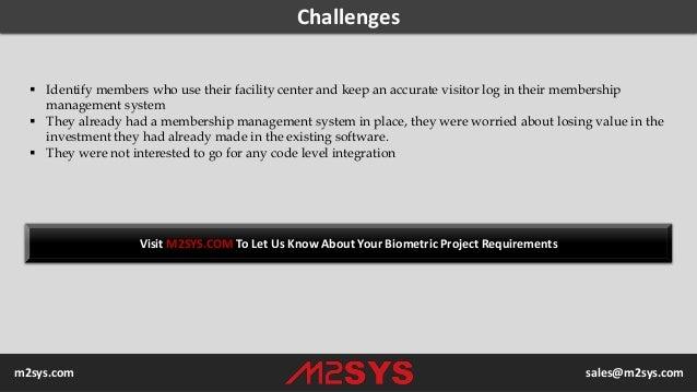 Biometric Case Study - Bio-SnapON™ Biometric Identification  Solution Integrated with Membership  Management System in City of Mandurah, Australia Slide 3