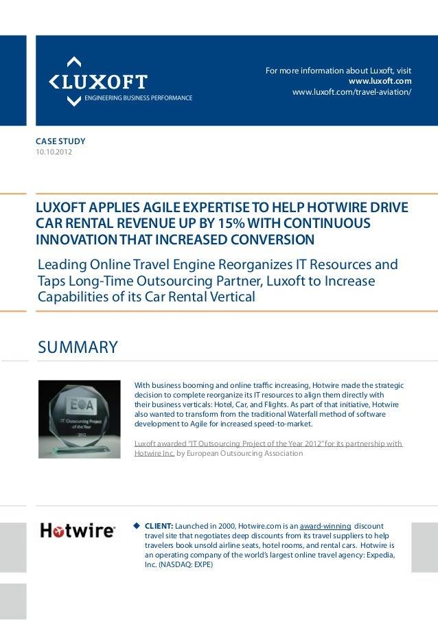 For more information about Luxoft, visitwww.luxoft.comwww.luxoft.com/travel-aviation/case studyLuxoft Applies AGILE Expert...