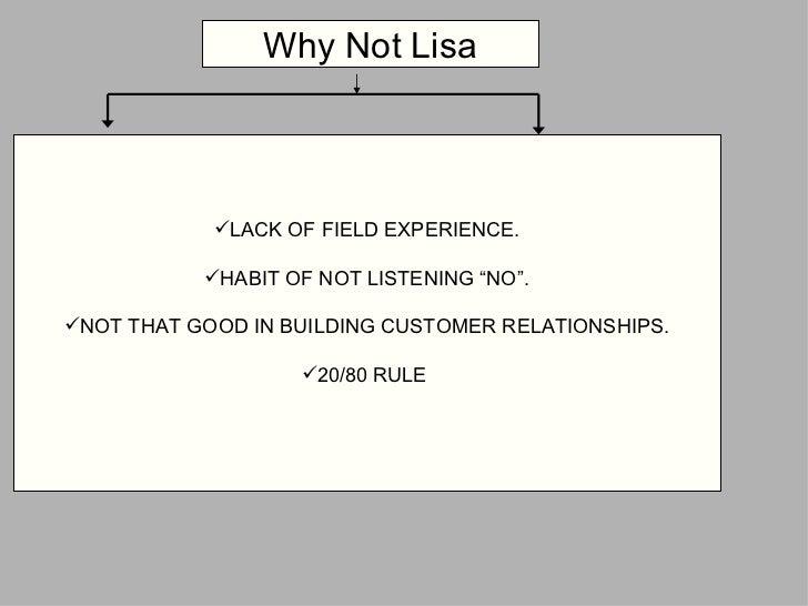 """<ul><li>LACK OF FIELD EXPERIENCE. </li></ul><ul><li>HABIT OF NOT LISTENING """"NO"""". </li></ul><ul><li>NOT THAT GOOD IN BUILDI..."""