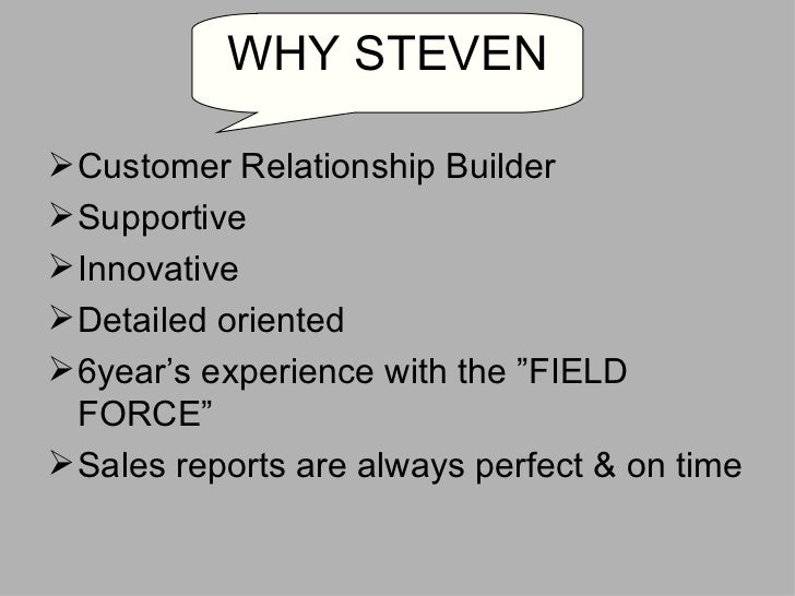 <ul><li>Customer Relationship Builder </li></ul><ul><li>Supportive </li></ul><ul><li>Innovative </li></ul><ul><li>Detailed...