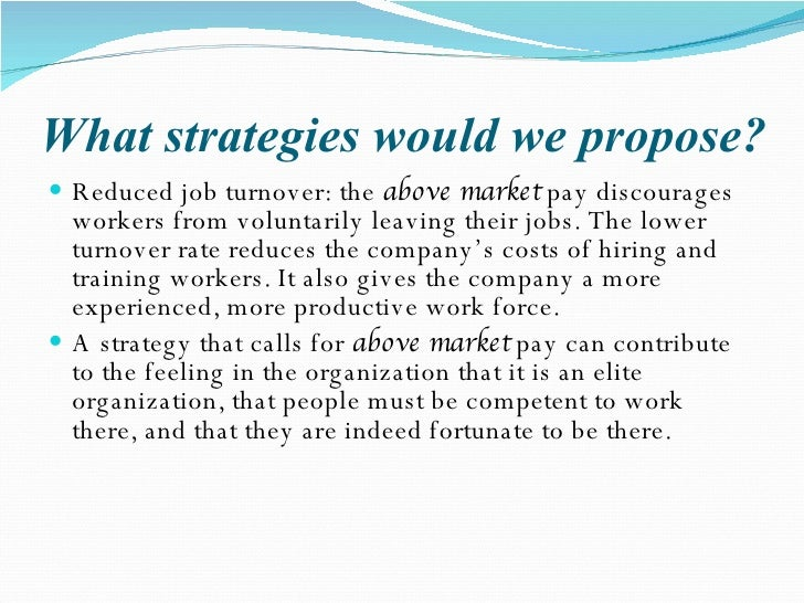 Case Study: Best Laid Incentive Plans Essay Example ...