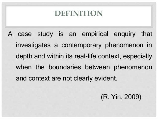 case study method definition
