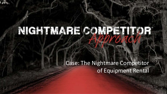 Rocking Business Innovation | 1© NC-Creators Case: The Nightmare Competitor of Equipment Rental