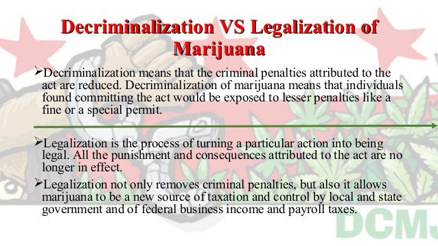 an analysis of marijuana on the case for decriminalization May a state authorize the use of marijuana for recreational purposes even if   these legalization initiatives as set forth in a memorandum sent to all   although not imperative to the preemption analysis, it would seem that an  express  moreover, in a case addressing whether the csa prohibited physician.