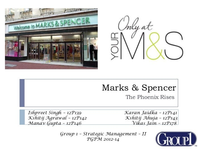 marks spencer the phoenix rises Marks & spencer employed 28,403 people in 1955 m&s was the fifth most highly valued stock in britain in 1963, at £435 million this value had risen to £615 million by 1970.