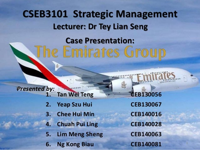 case study of emirates airlines Executive summary this report on strategic analysis of the airline industry with emirates airline, as a case study is to help concerned managers gain a.