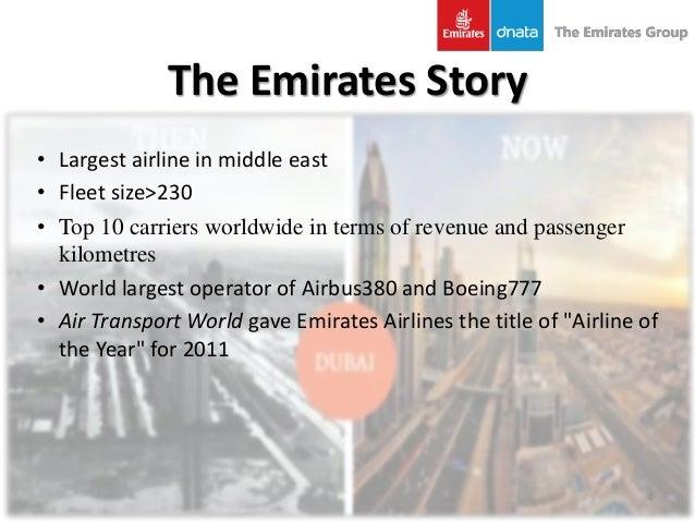 Emirates airlines essay