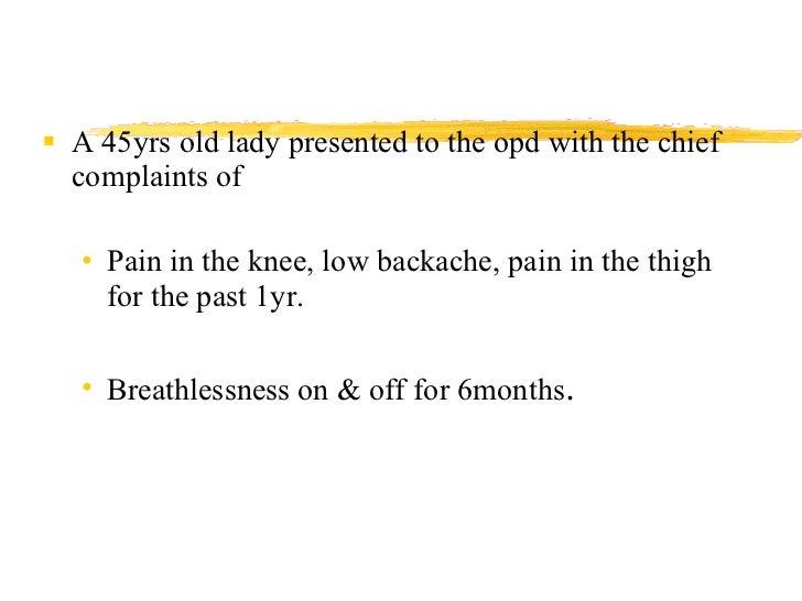 A Case of Paget's Disease Slide 2