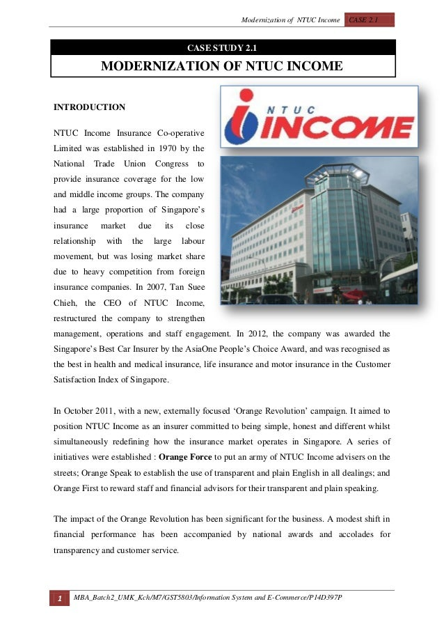 case study modernization of ntuc income