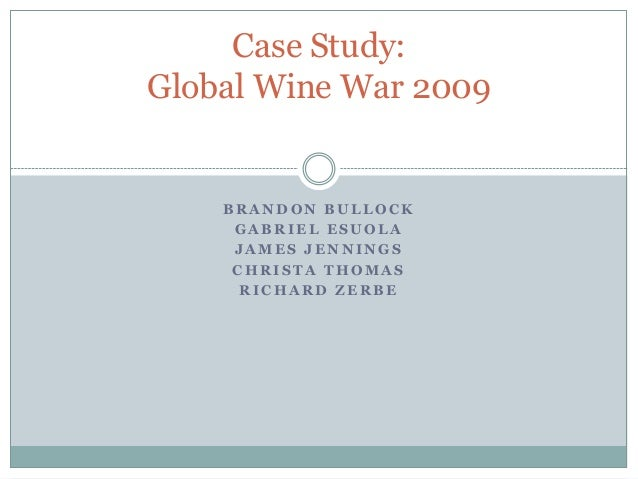 wine war case study Easter island is the most isolated piece of inhabited land in the world  the society collapsed into civil war,  a worst-case scenario,.