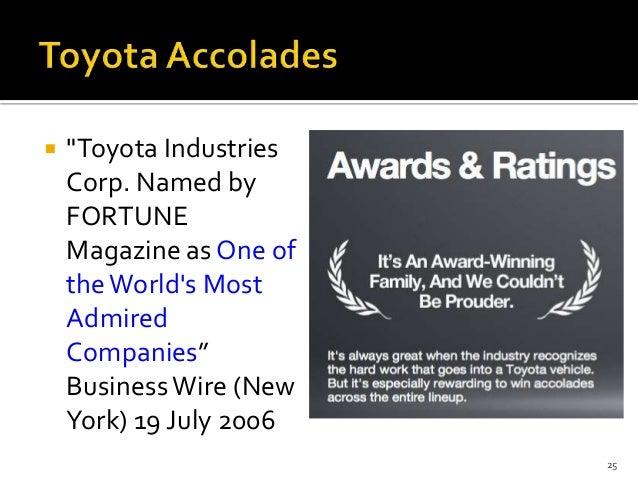 Toyota the accelerator crisis