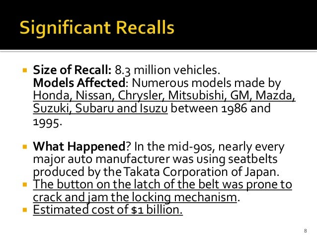 toyota recall crisis management case study Video: business case study: crisis management at toyota this lesson will take a look at crisis management when companies are faced with emergency situations the company used to look at this topic.