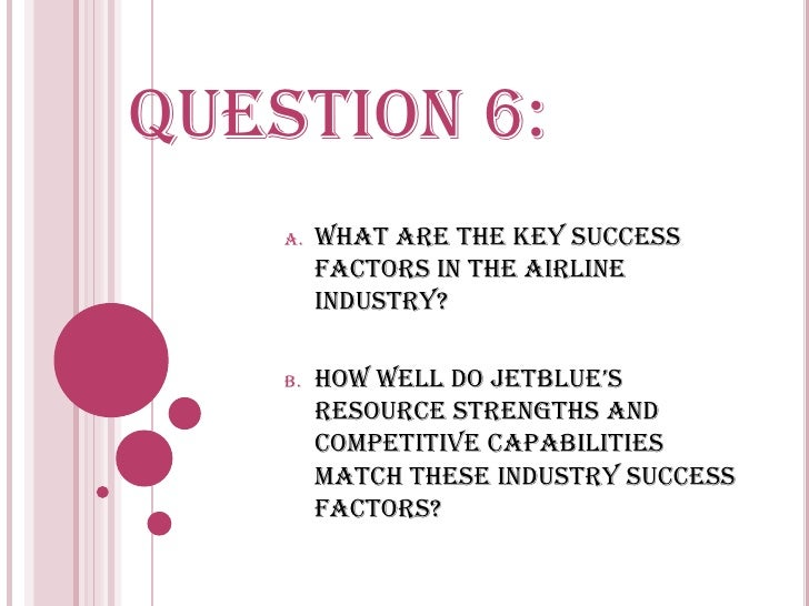 Jetblue resources and capabilities