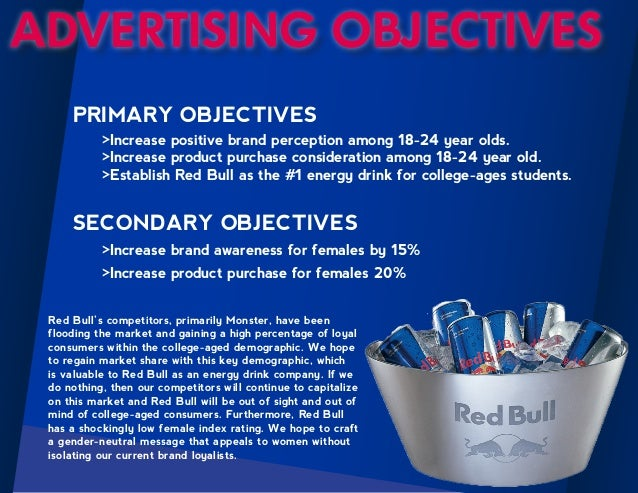 red bull marketing Red bull global strategy selling power (2013) stated that red bull is an energy drink that doesn't do well in taste tests.