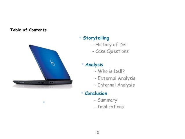 hp vs dell case study and competitive analysis What is swot analysis swot analysis is used for identifying those areas  continued cost containment pressures in highly competitive  one of our case.