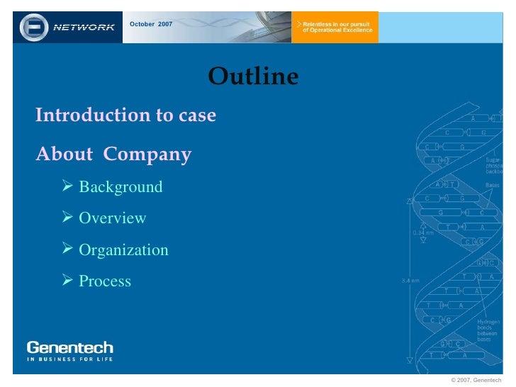 genentech capacity planning Laporan studi kasus strategi operasi untuk daya saing global genentech - capacity planning disusun oleh : allen pradita - 1506699176 bonny antonio - 1506699415.