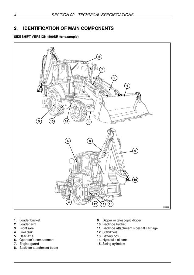Case 580 sr series 3 backhoe loader service repair manual