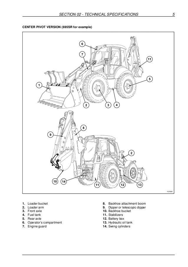 Case 580k Exhaust