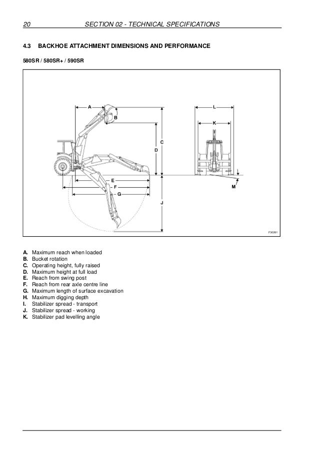 Case 580 sr+ series 3 backhoe loader service repair manual