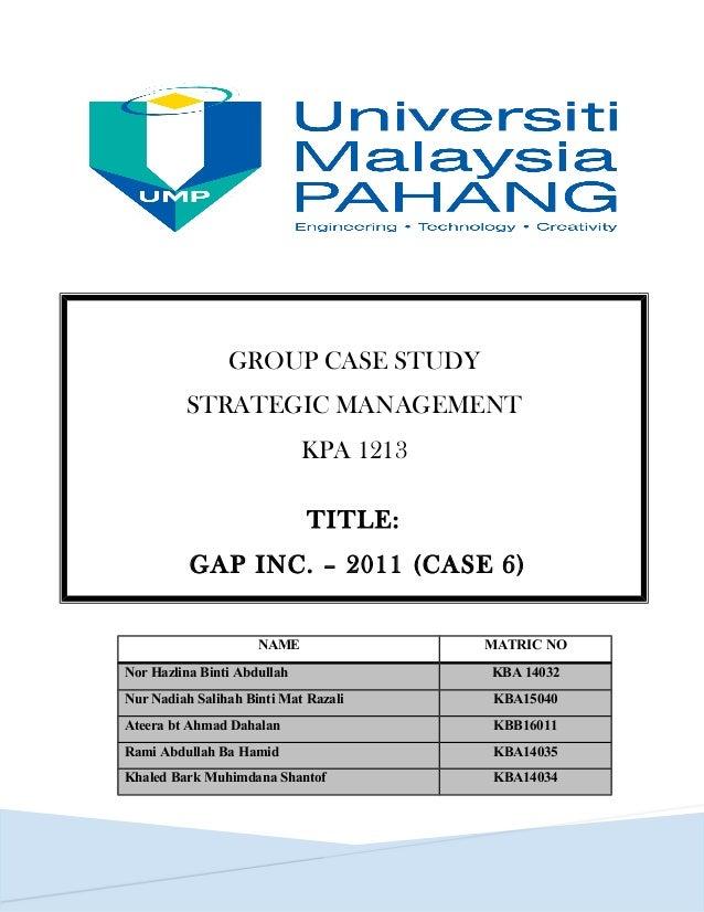 gap shareholders