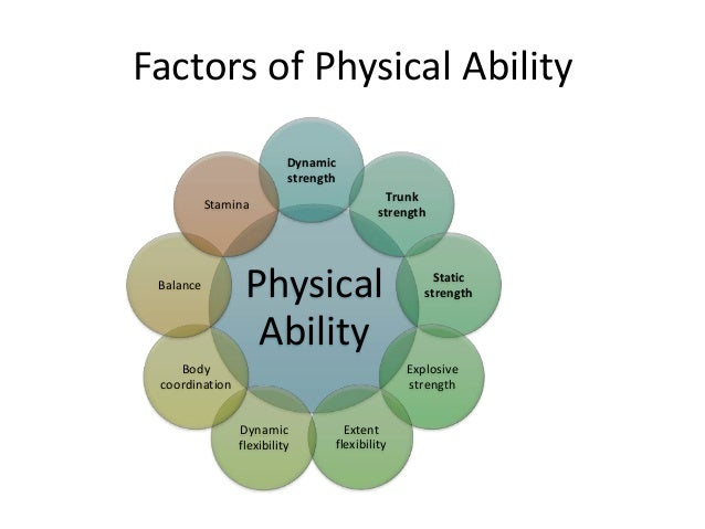 ability intellectual and physical