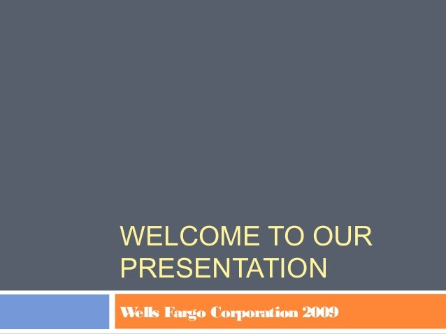 wells fargo corporation 2009 case 11 Amendment to the wells fargo & company long term incentive compensation plan restated effective april 29, 2008 and subsequently amended effective april 28, 2009 and effective february 28 company means wells fargo & company, a delaware corporation (k.