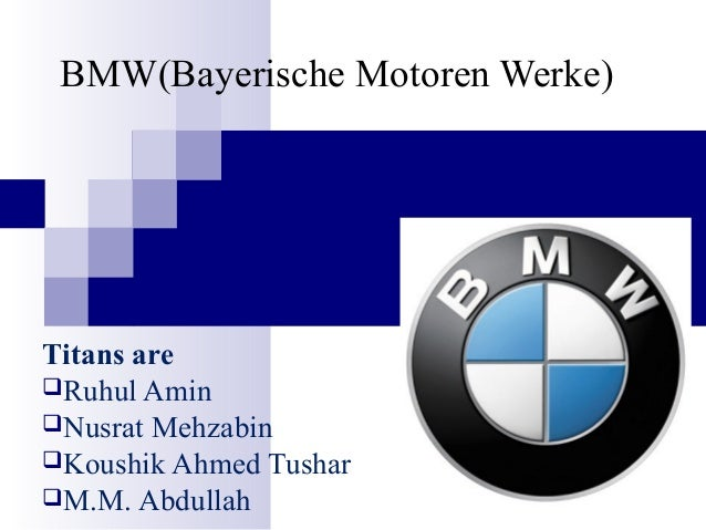 bmw case analysis This articles will discuss the detailed swot analysis of bmw which has been known as reputable brand name in the automobile industry since ages bmw is a well known automobile and motorcycle manufacturer company which is based in munich, germany.