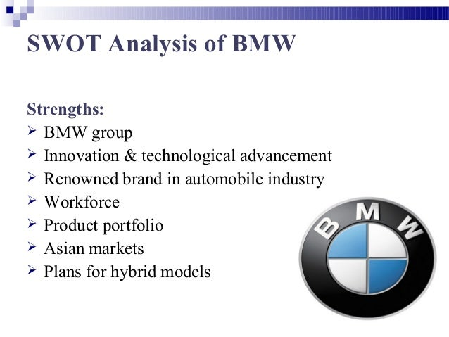 Case Analysis On Bmw