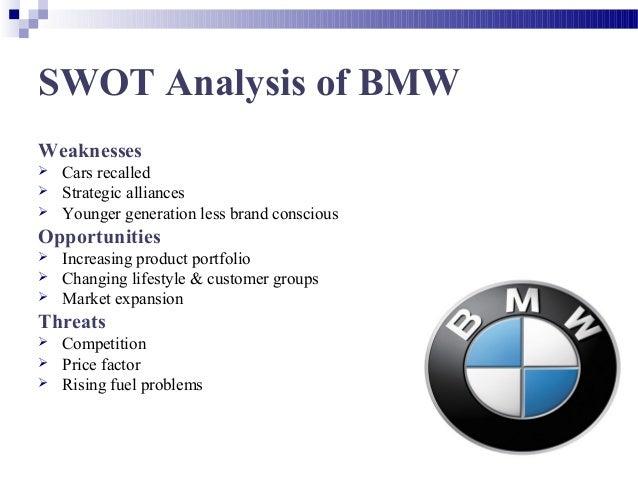 situation analysis bmw