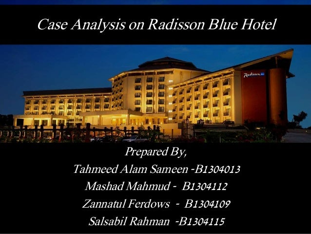 Analysis Of The Blue Hotel 30