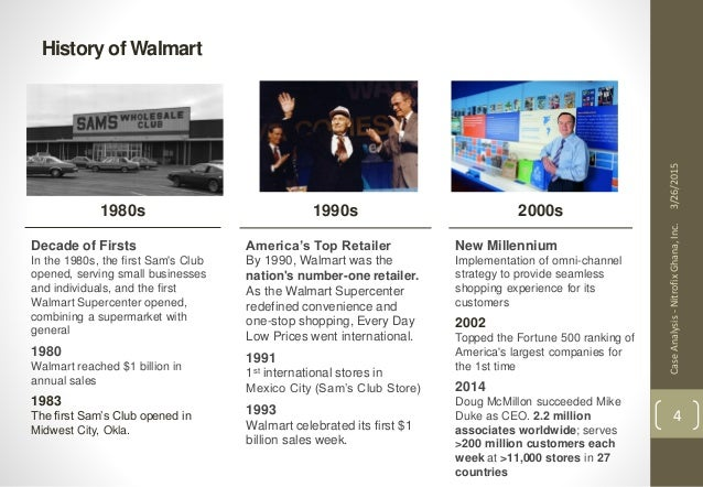 an analysis of wal mart store in 1962 In the united states, wal-mart operates a variety of stores including discount, supercenter, sam's club, neighborhood market, marketside, and supermercado de wal-mart.