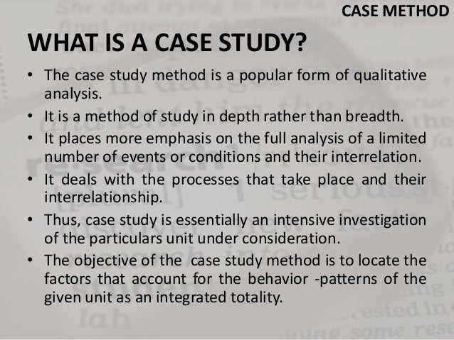 The use of the case study method in logistics research
