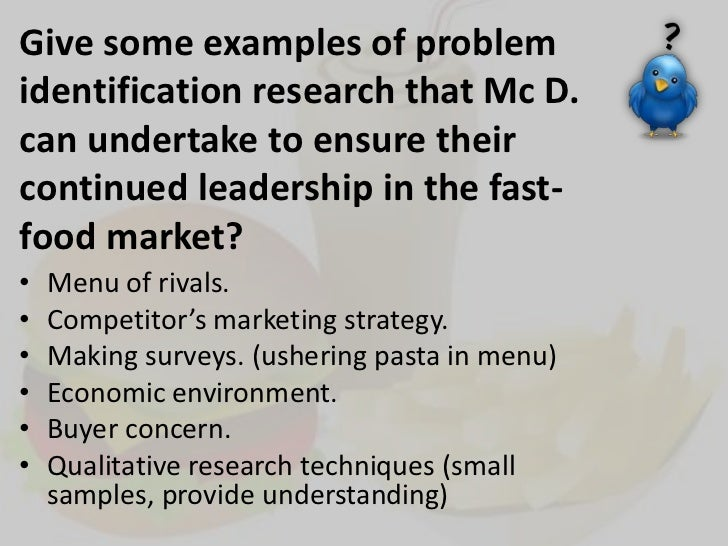 The Purpose Of Fast Food Surveys