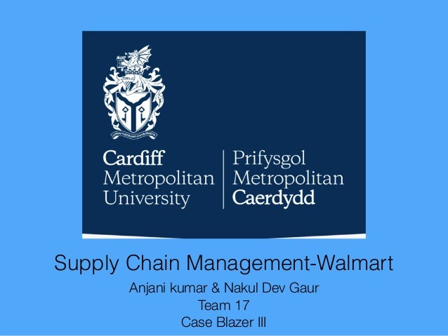 Supply chain management in wallmart | Essay Example