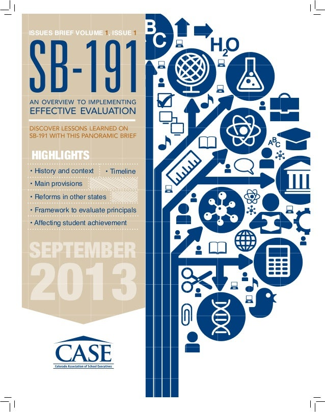 • History and context • Main provisions • Reforms in other states • Framework to evaluate principals • Affecting student a...