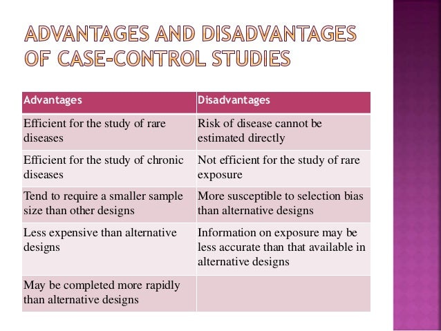 Epidemiology in Practice: Case-Control Studies