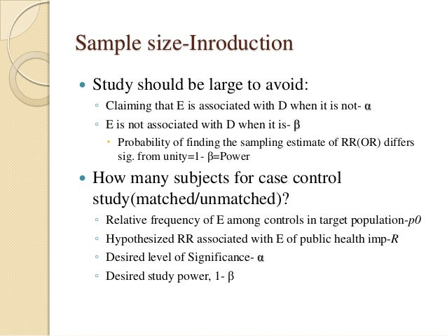 unmatched case control study definition Case-control studies are a relatively inexpensive and frequently-used type of epidemiological study that can be carried out by small teams or individual researchers in single facilities in a way that more structured experimental studies often cannot be 6 advantages of c/c studies case-control.