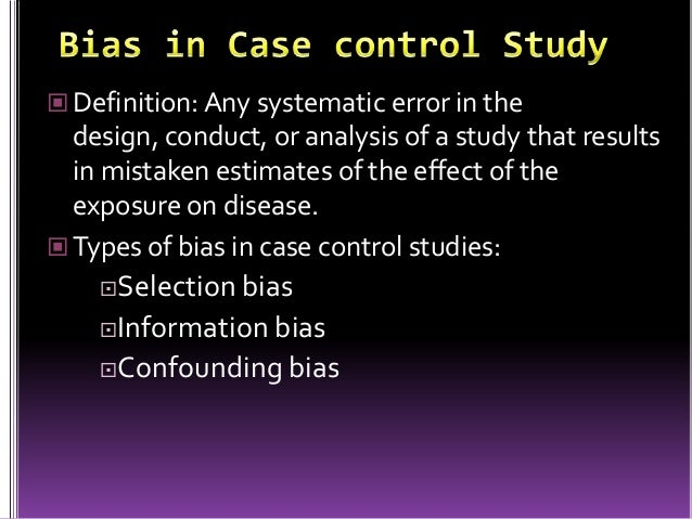 Cohort, Case-Control, Meta-Analysis, Cross-sectional Study ...