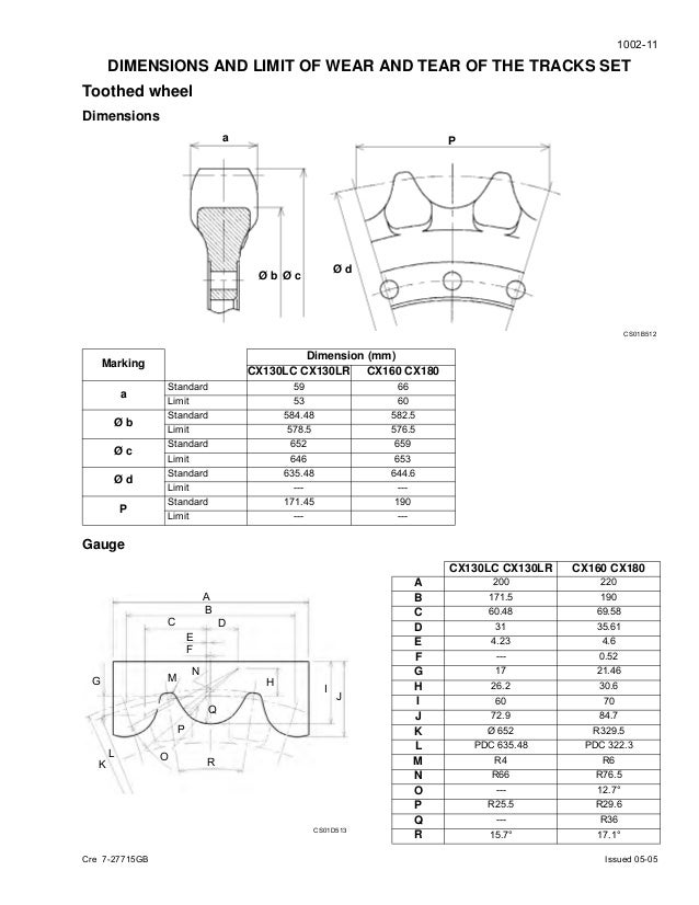 case cx130 crawler excavator service repair manual rh slideshare net Basic Air Conditioning Wiring Diagram AC Electrical Wiring Diagrams