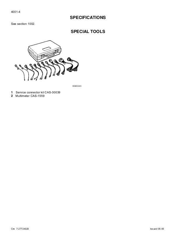 case cx130 crawler excavator service repair manual rh slideshare net Case CX130 Parts Track Case CX130 Excavator Specifications