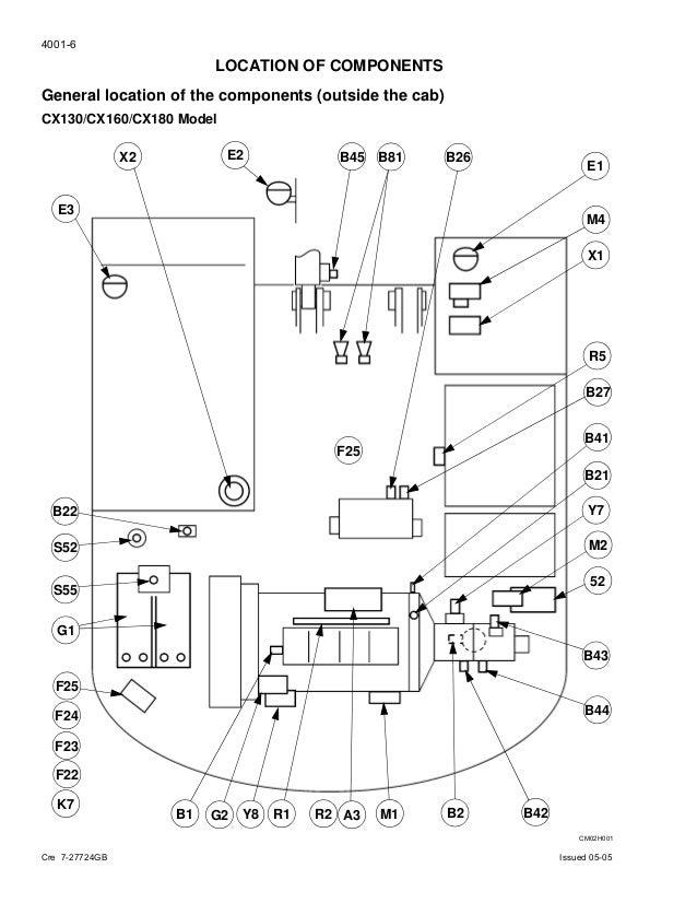 case cx130 crawler excavator service repair manual rh slideshare net
