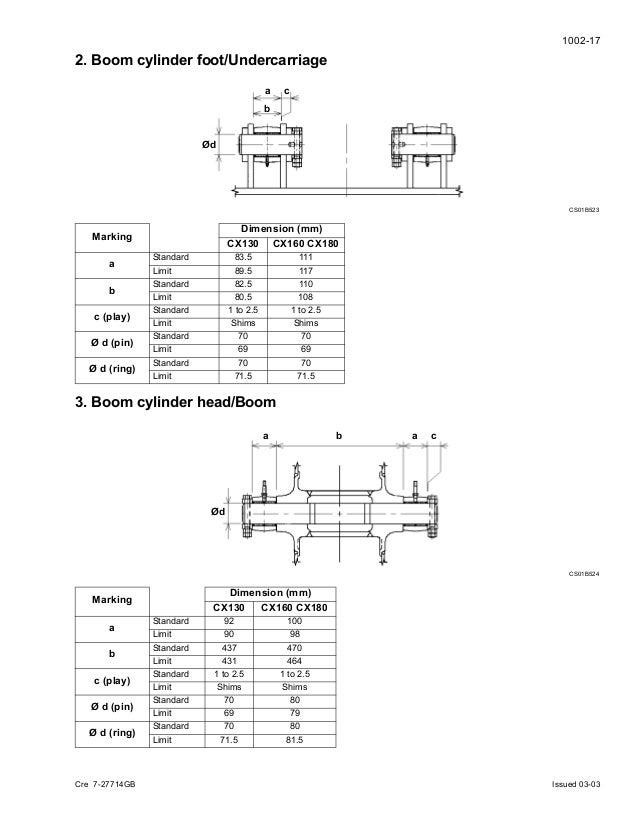 case cx160 crawler excavator service repair manual rh slideshare net